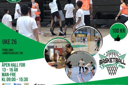 Åpen Hall Uke 26 Ammerud Basket sommer 2021 justert
