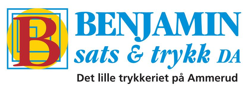 Benjamin-Sats, trykk & logo